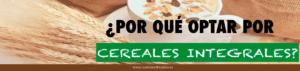optar por los cereales integrales