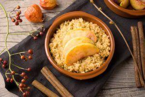 preparar quinoa dulce