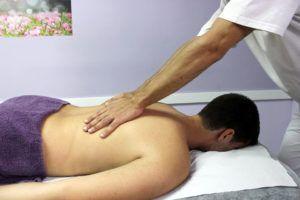 recolocación de espalda