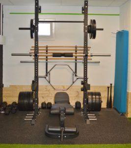 entrenar peso libre