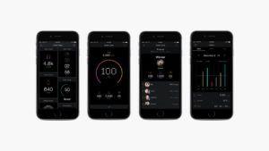 aplicación móvil de fitness