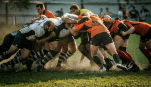 rugby deporte en equipo